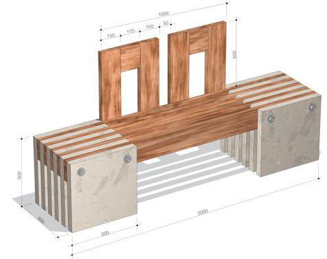 gartenbank selber bauen beton. Black Bedroom Furniture Sets. Home Design Ideas