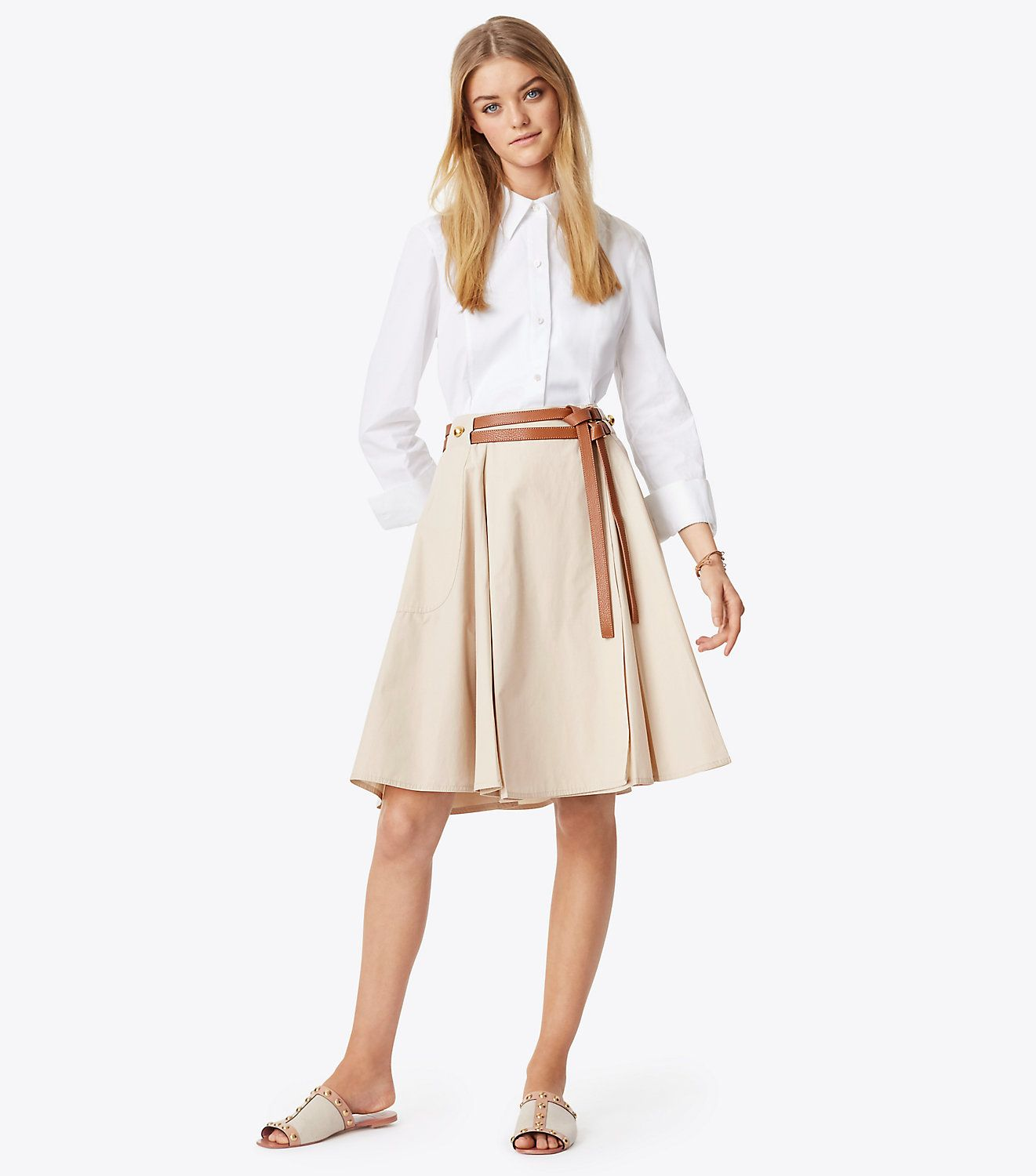 31205c56074 Visit Tory Burch to shop for Betsy Skirt and more Womens The Essentials.  Find designer shoes