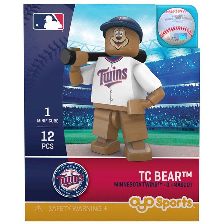 TC Bear Minnesota Twins OYO Sports Generation 5 Mini Figurine - $12.99