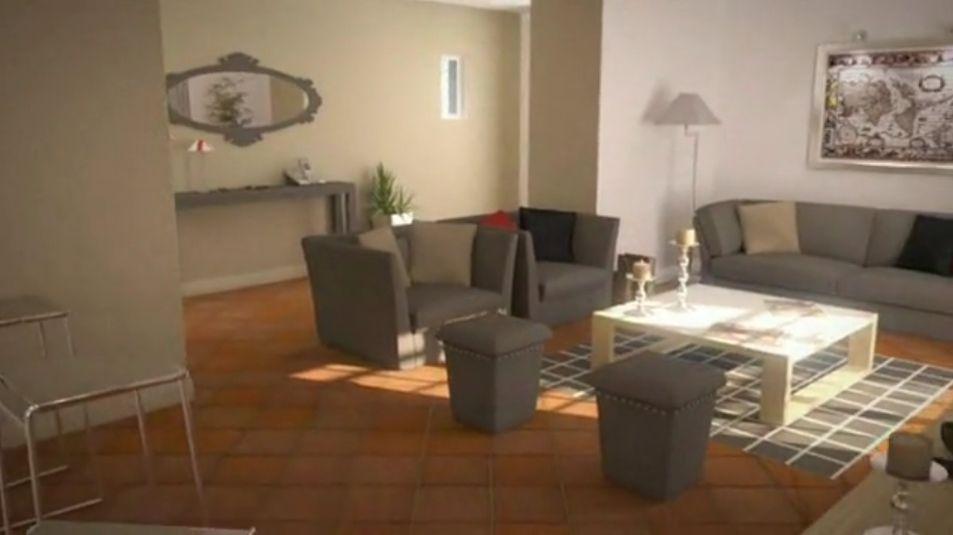 Réalisation d'infographies 3D de vente pour un projet de mas provençal, Vincent Grieu http://www.vincent-grieu.com/
