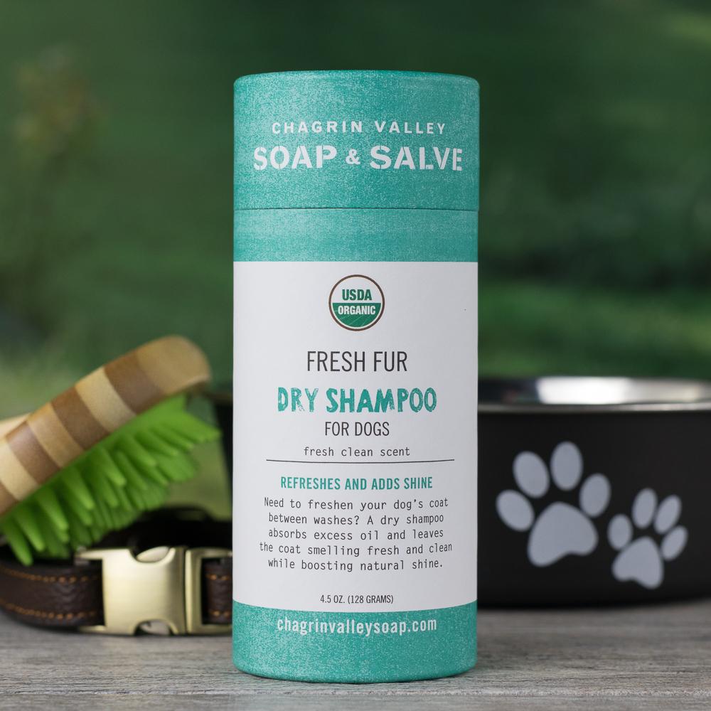 Fresh Fur Dry Dog Shampoo Organic Dry Shampoo Dry Dog Shampoo Dry Shampoo
