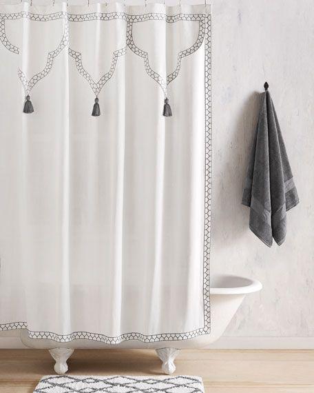 John Robshaw Iswar Shower Curtain Curtains Shower Curtain