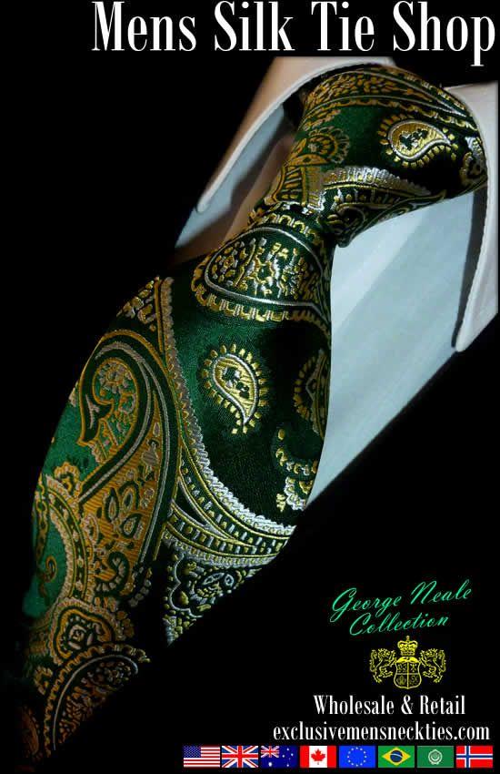 designer silk ties 1afi  Silk ties
