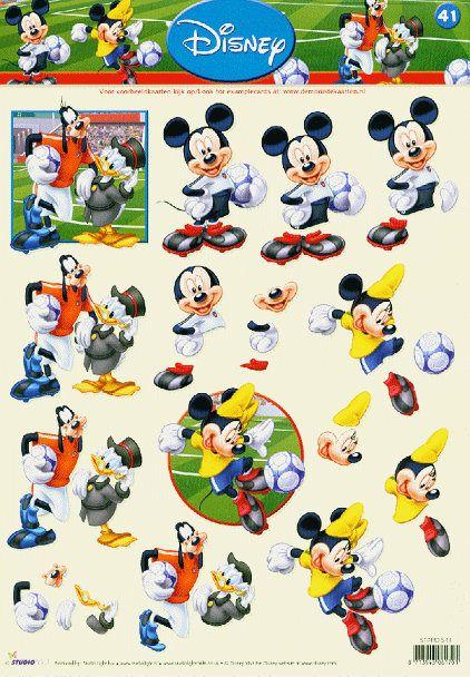 Three D Mickey
