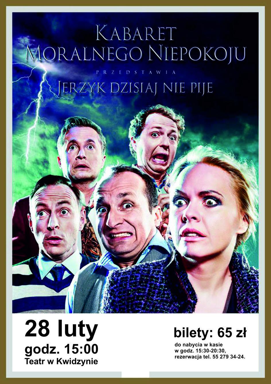 Kabaret Moralnego Niepokoju 28 02 2016 R Movie Posters Poster Movies
