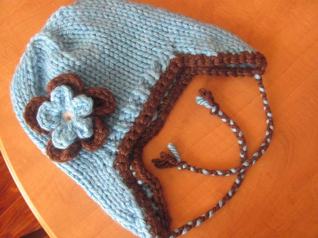 Quick and Easy Seamless Knit Earflap Hat Pattern now ...