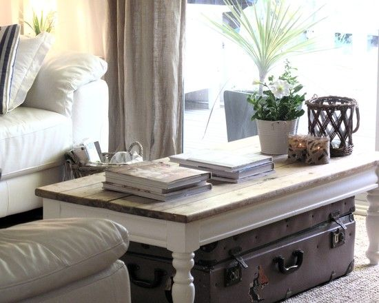 Love The Trunk Coffee Table Tablescape Table Scape T Design
