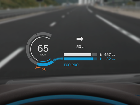 Bmw I8 Head Up Display Car Ui Pinterest Interface Design Ui