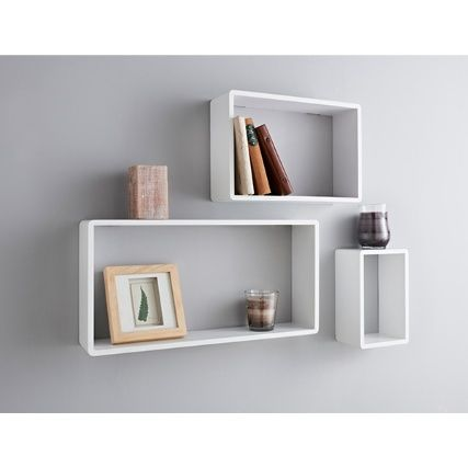 sports shoes 51796 9511b Bjorn Set of 3 Shelves. Available colour: White - Dimensions ...