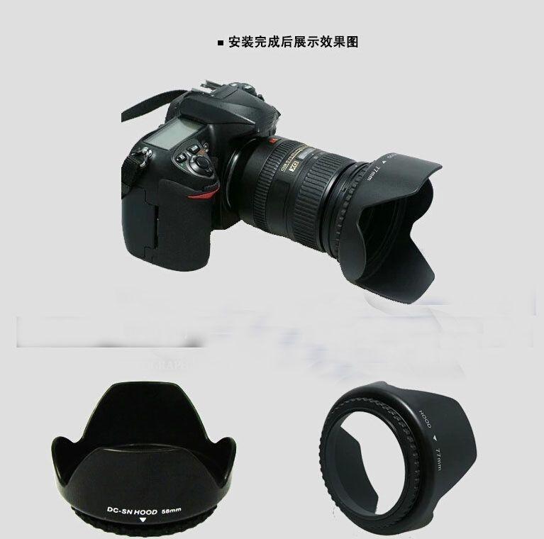 lens hood D3200 D3100 D5200 D5300 Camera Lens Hood 52mm Bayonet Fits for nikon nikor AF-S DX 18-55mm f/3.5-5.6G VR II 52 Lens $3.97   #instalike #stylish #swag #love #sweet #pretty #model #styles #fashionista #instafashion #instastyle #fashion #beauty #streetstyle #dress