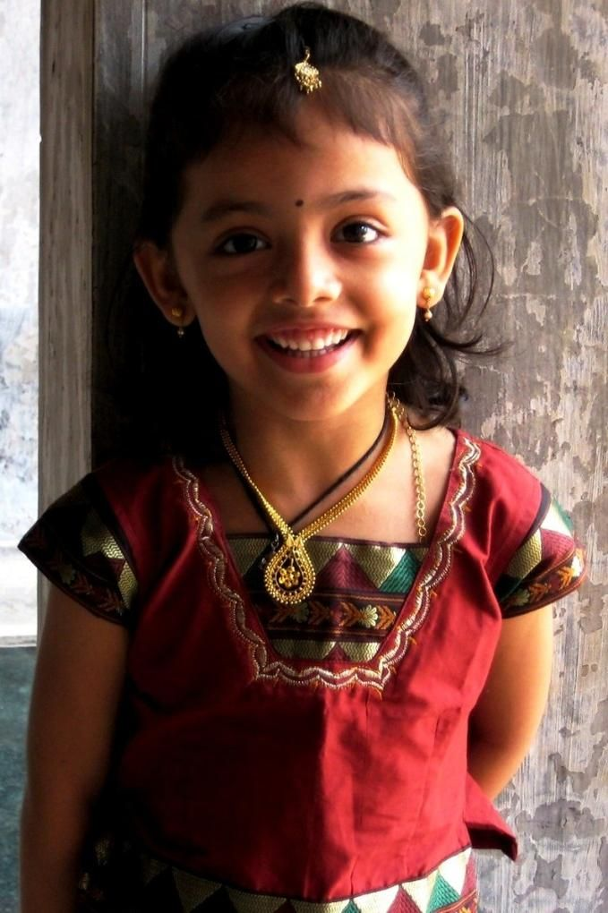 South Indian Traditional Kids Wear Indian Baby Girl Girl