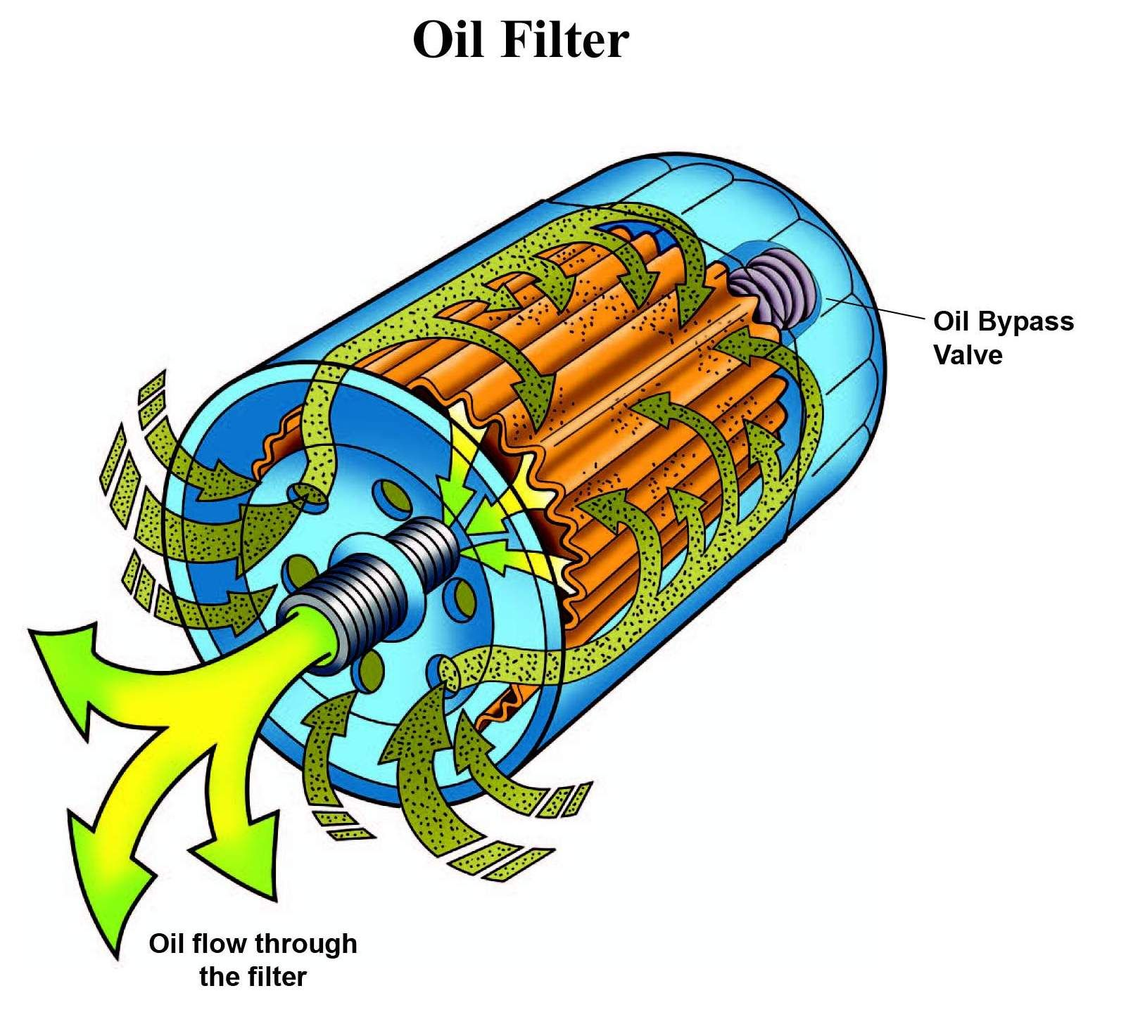Lysosome (oil filter) it filters out the bad oil away