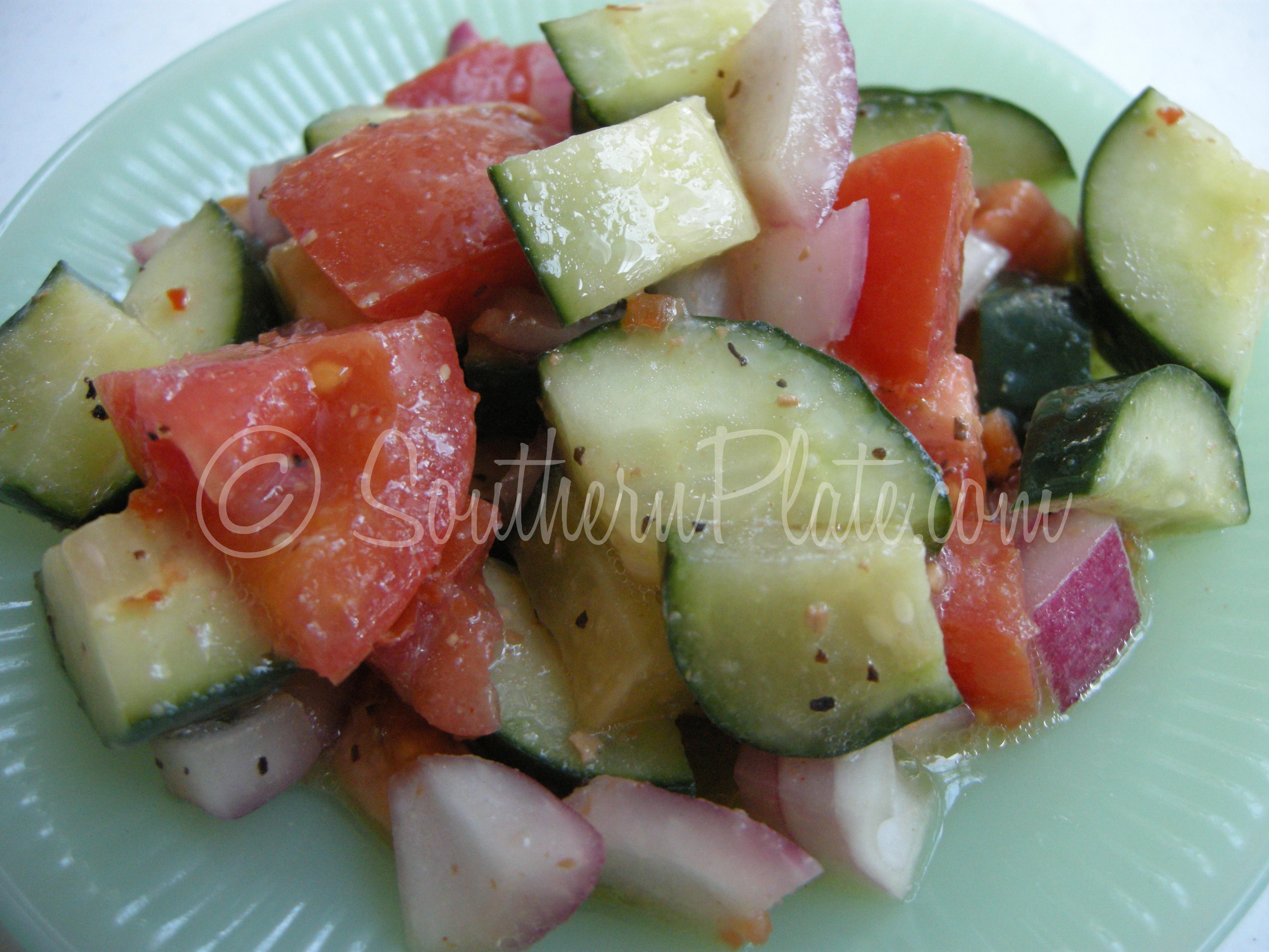 Zankou Cucumber Salad Recipe