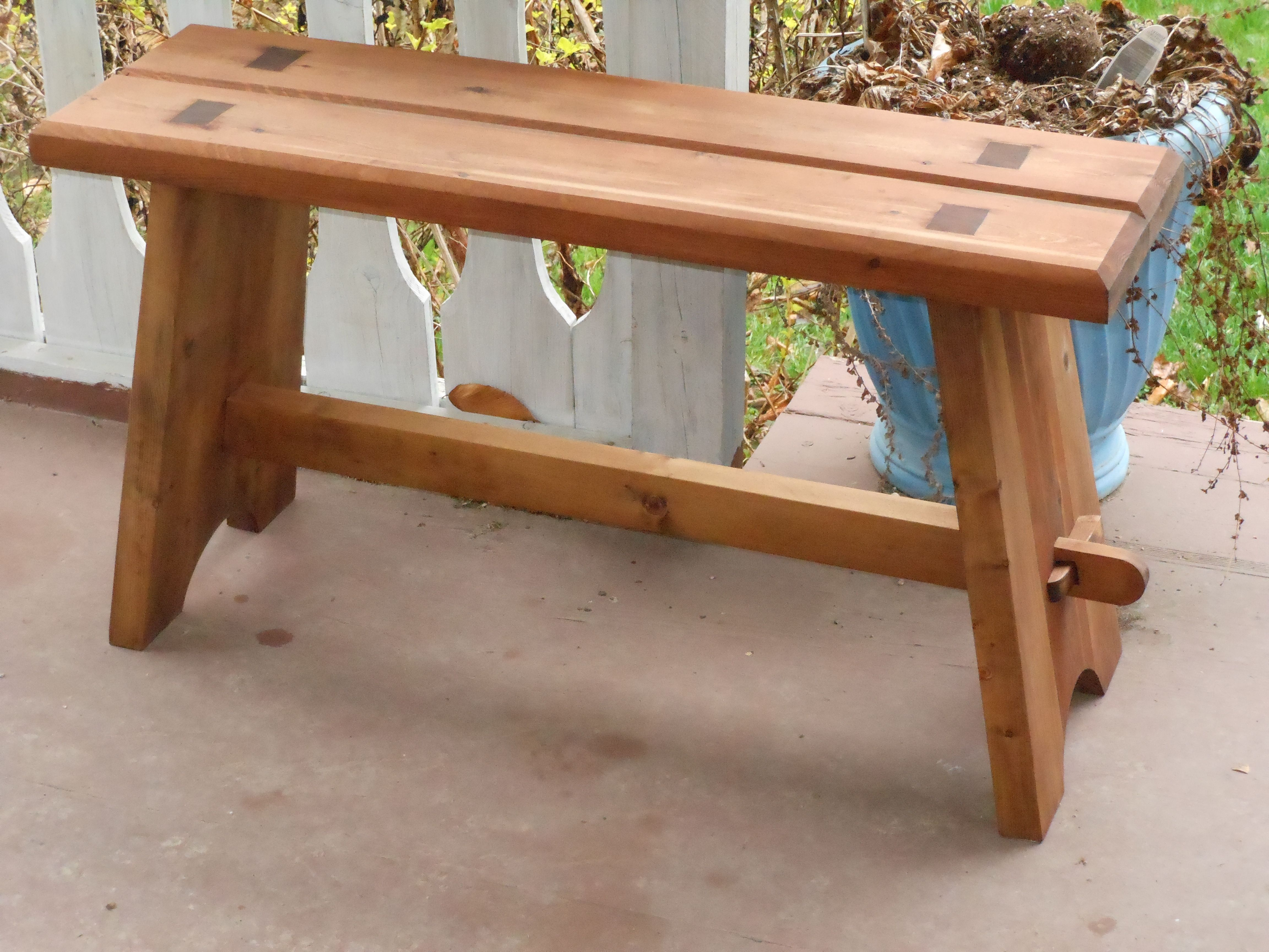 How to Build a Strong Mortise and Tenon Bench in 2018 | My Favorite ...