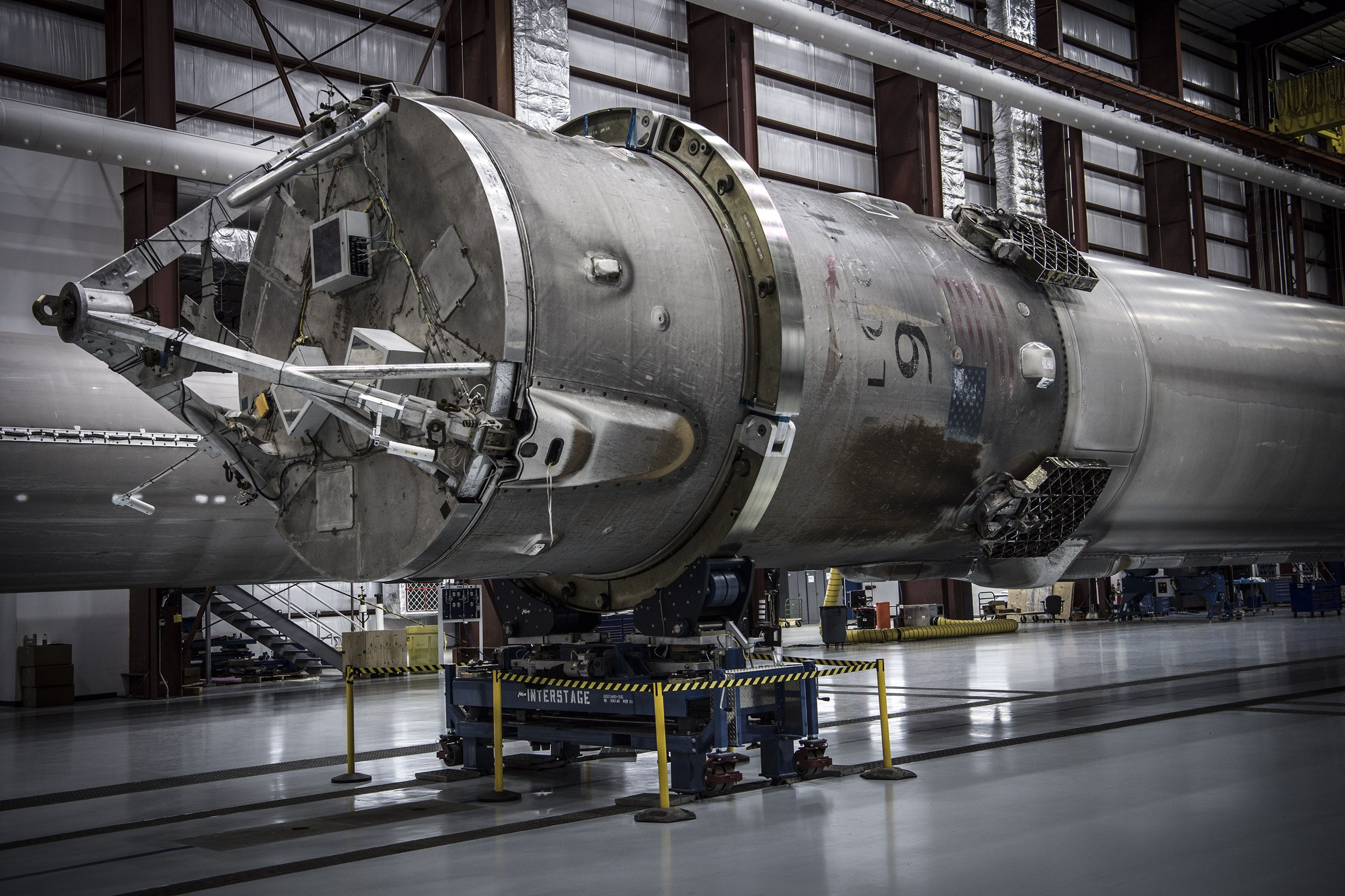 SpaceX Is Running Out of Room for Its Landed Rockets