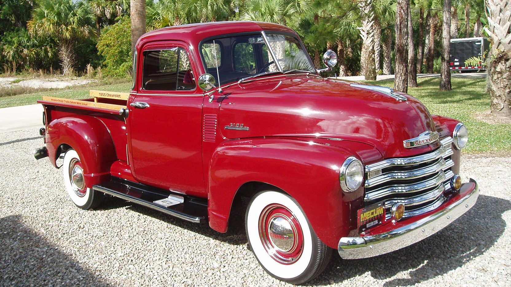 1953 Chevrolet 3100 Pickup Presented As Lot F81 1 At Kissimmee Fl Chevrolet 3100 Kissimmee Chevrolet