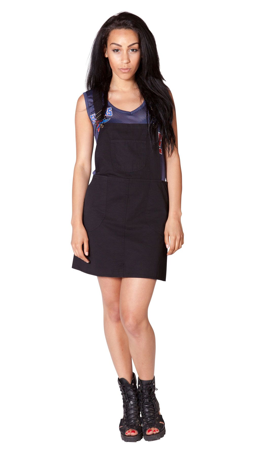 3a53778e37 Womens Dungaree Dress - cute   fashionable this summer. Perfect festival  wear...  dungareedress  skirtall  overallskirt
