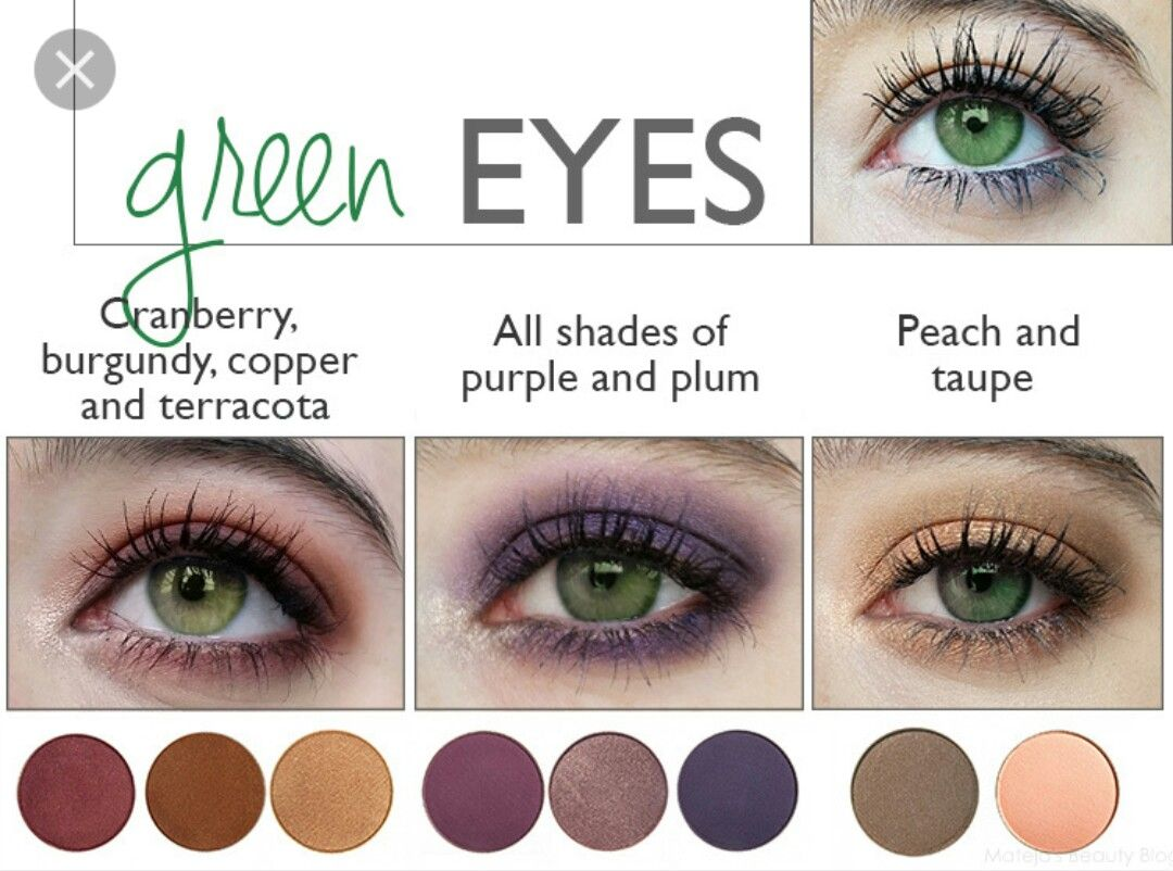 accent your eye color! | hair colour for green eyes, makeup