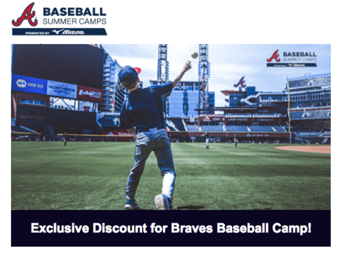 2018 Atlanta Braves Summer Camp Savings Code To Register Mommy Talk Show Atlanta Mom Blogger African American Mom Blogger Black Mom Blogger Summer Camp Summer Survival African American Moms