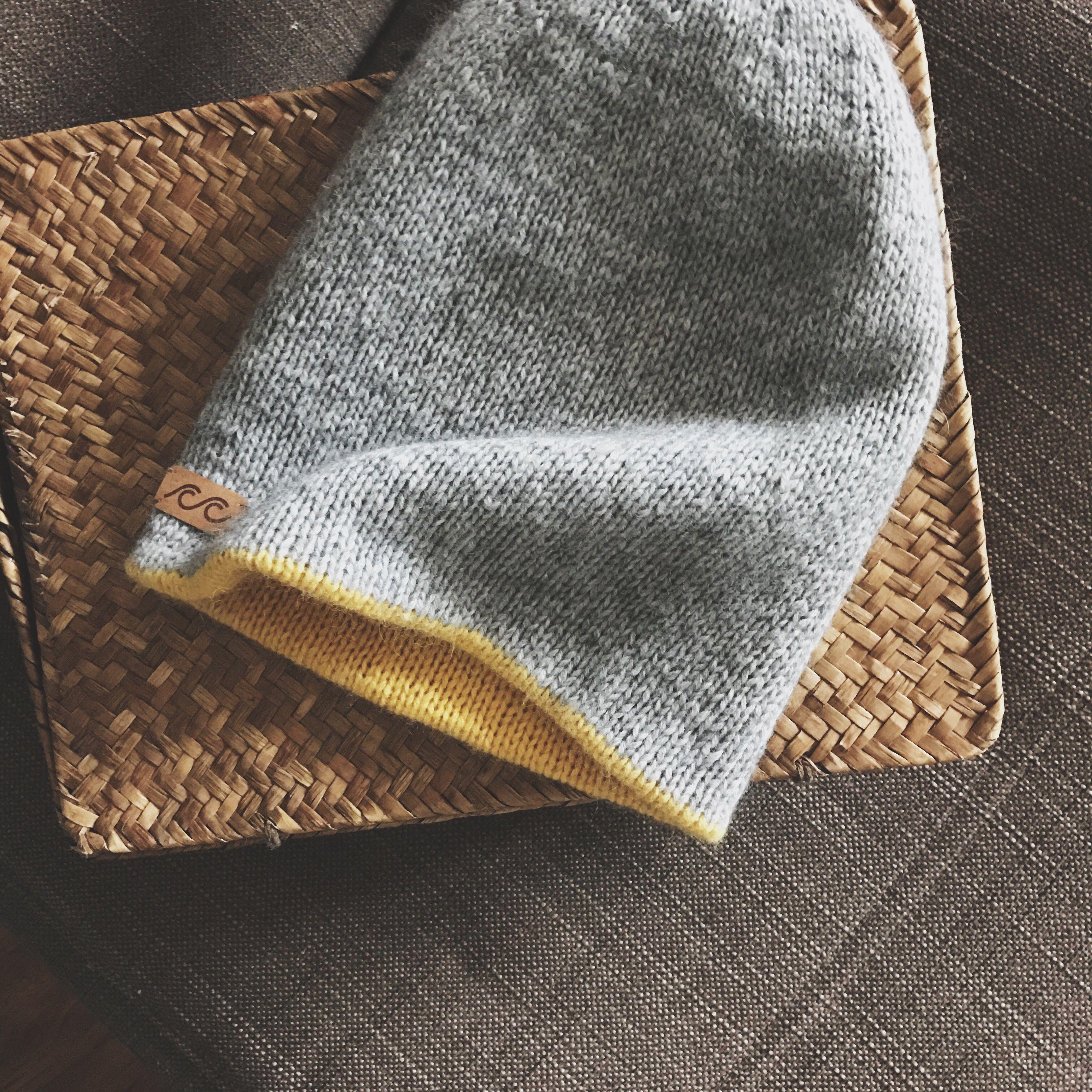 схема узора greenery hat
