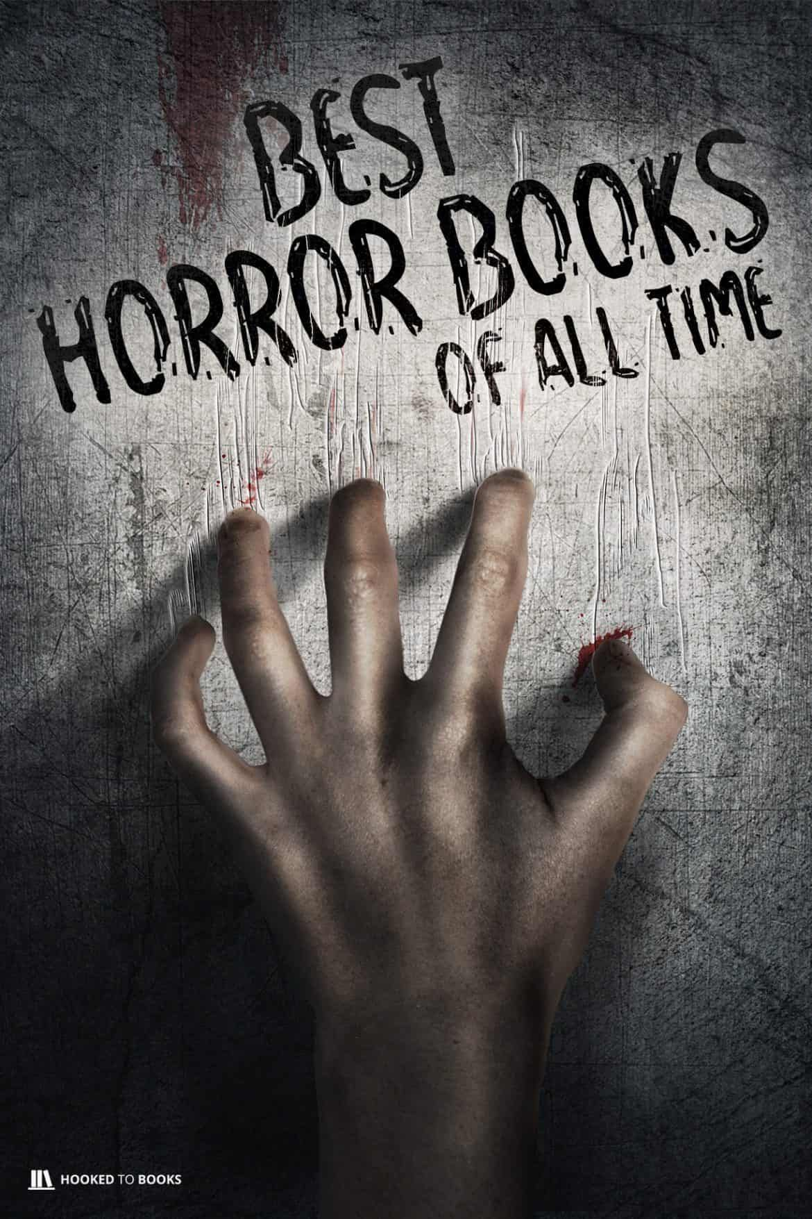 25 best horror books of all time hooked to books