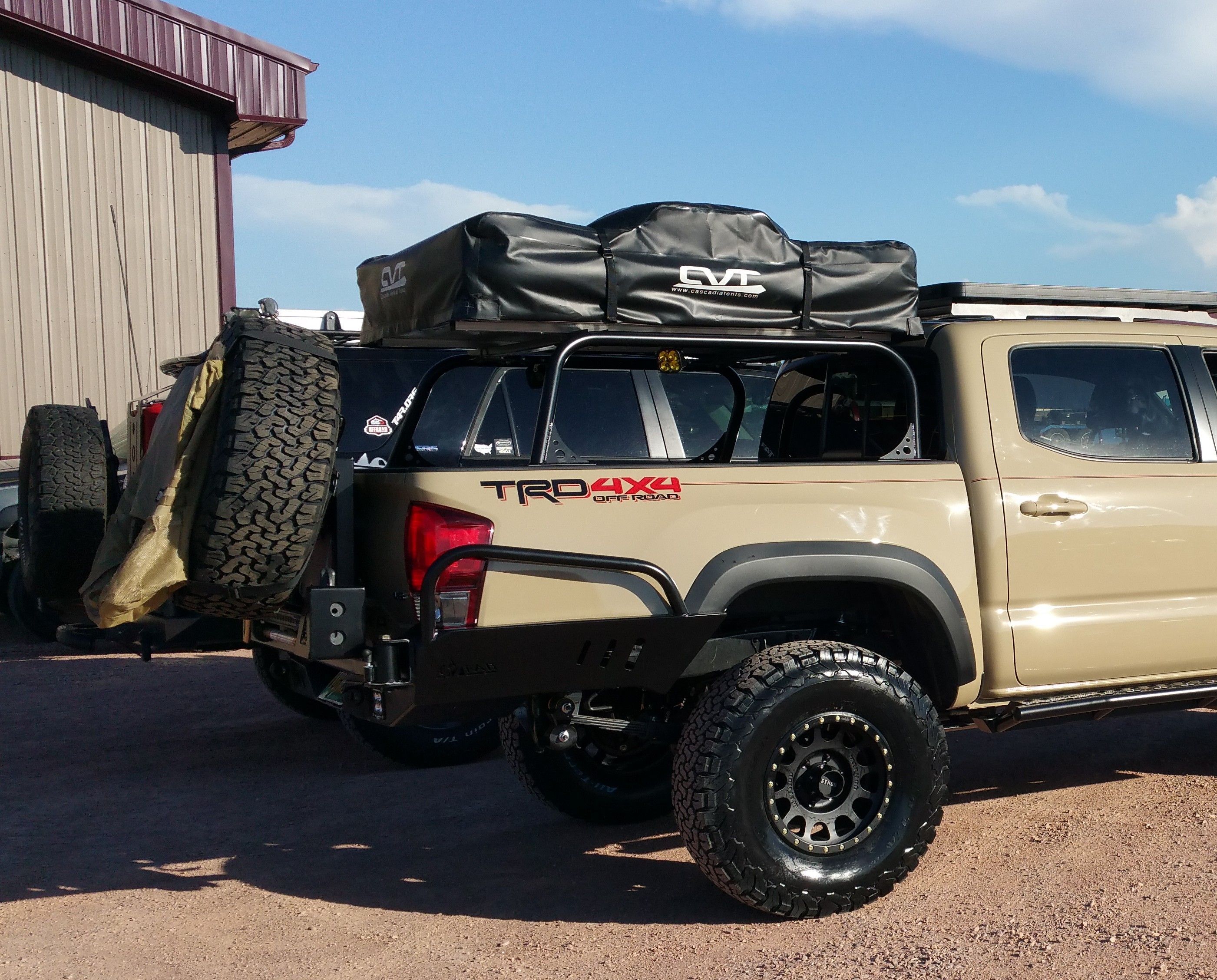 2016 Tacoma 3rd Gen Excursion Bed Rack C4 Fabrication