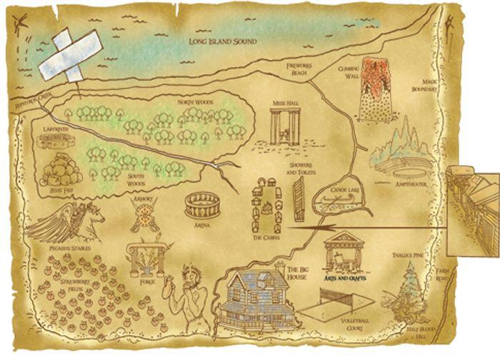 make maps of camp more half bloodyweathered look Camp Half