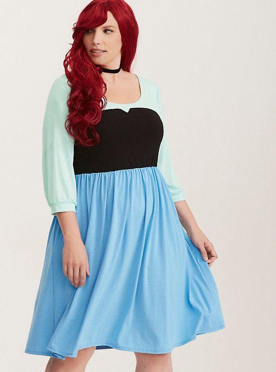 Disney The Little Mermaid Ariel Skater Dress   Plus size ...