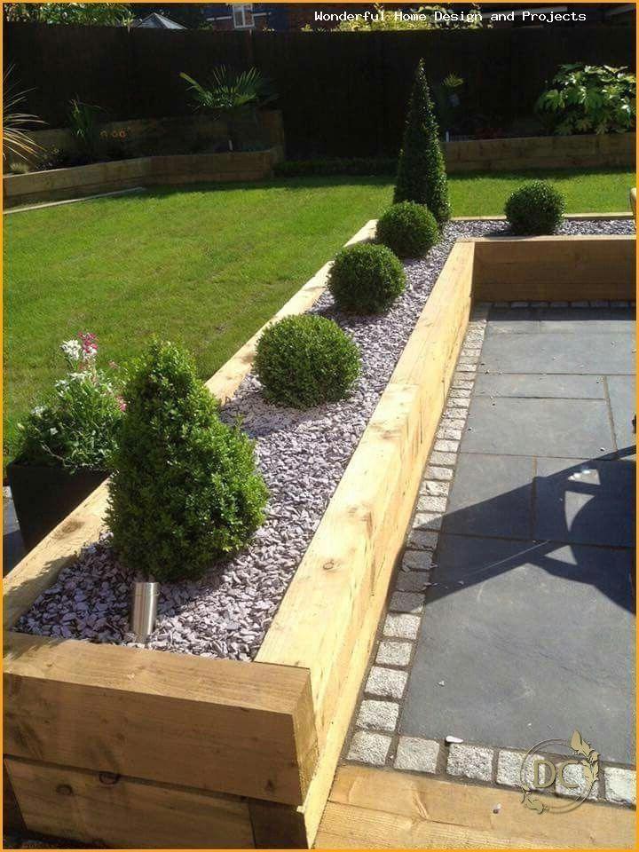 #smallgarden Garden design ideas low maintenance uk # ...