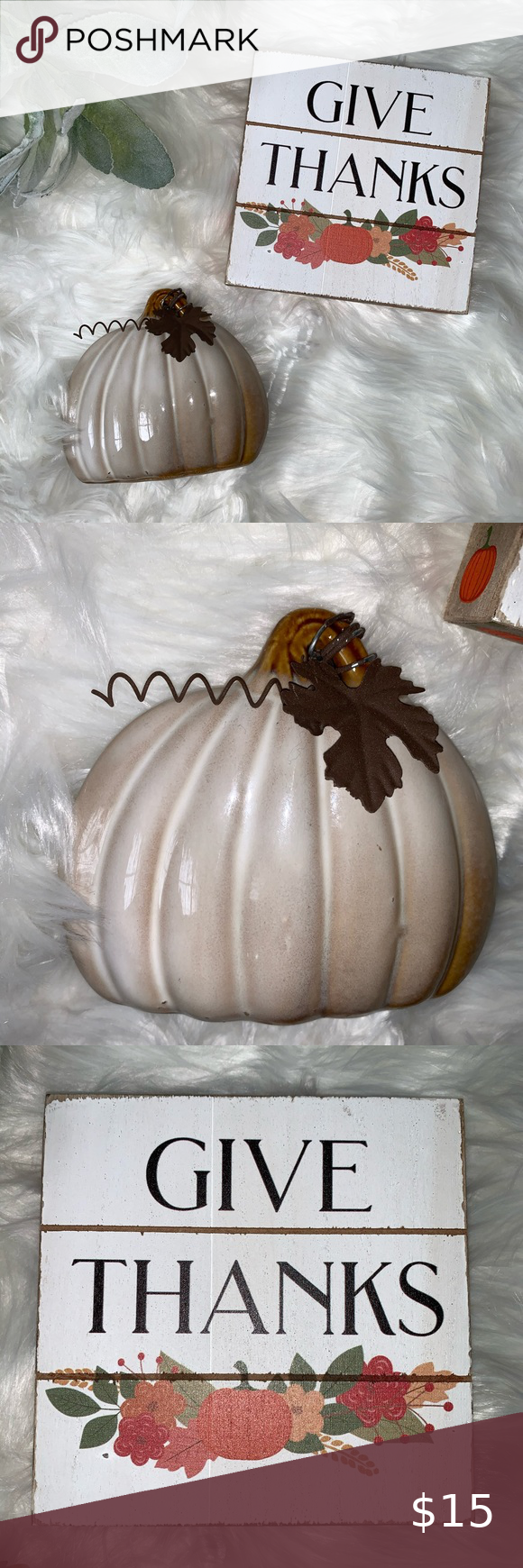 Kohl S Fall Thanksgiving Decor Set In 2020 Fall Thanksgiving Decor Thanksgiving Decorations Fall Thanksgiving