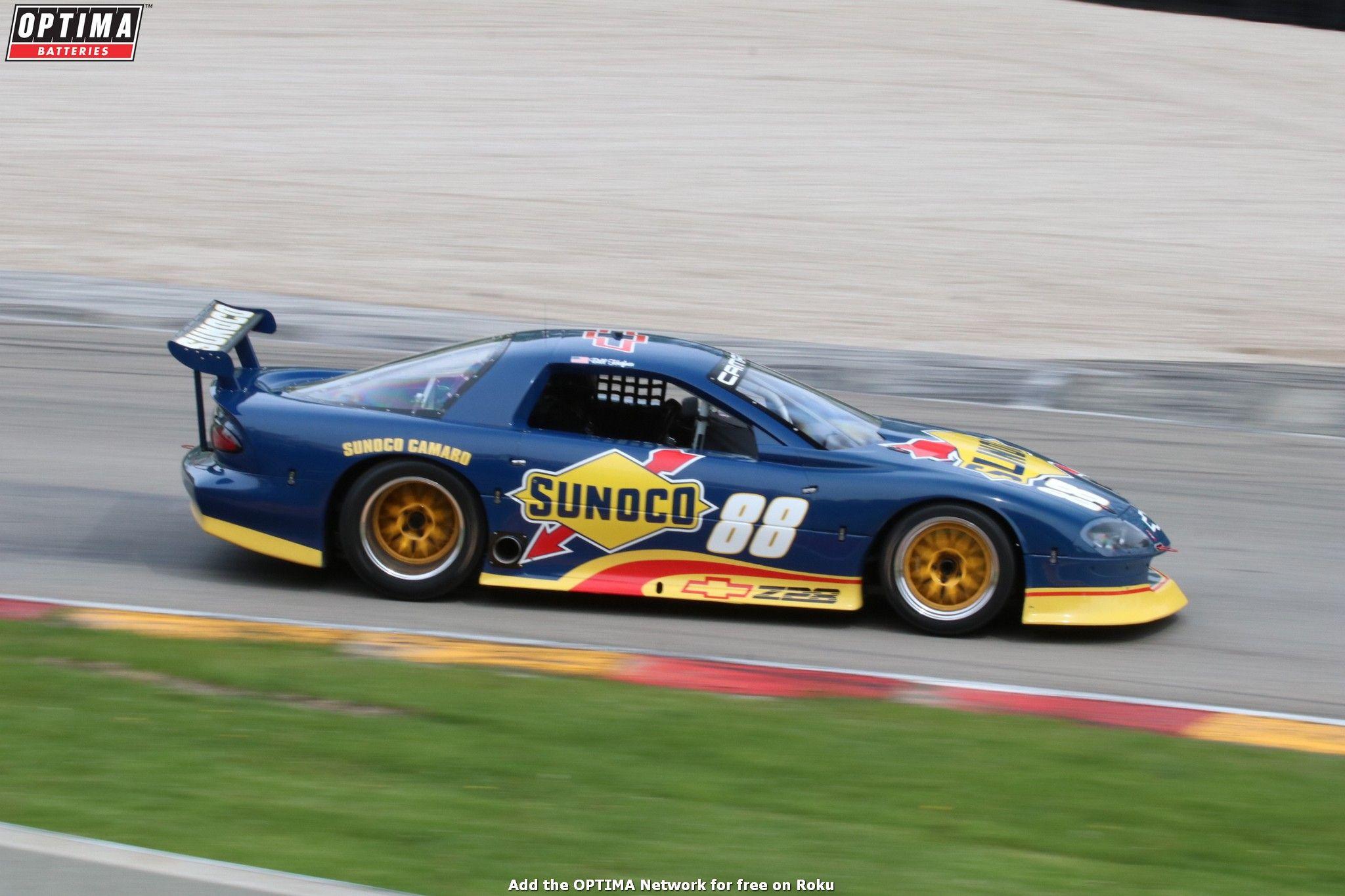 Bill Heffner's 1993 Sunoco #Camaro at the 2017 Spring #SVRA