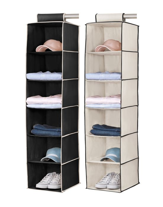 Attractive 17 Appealing Hanging Closet Organizers Photograph Idea