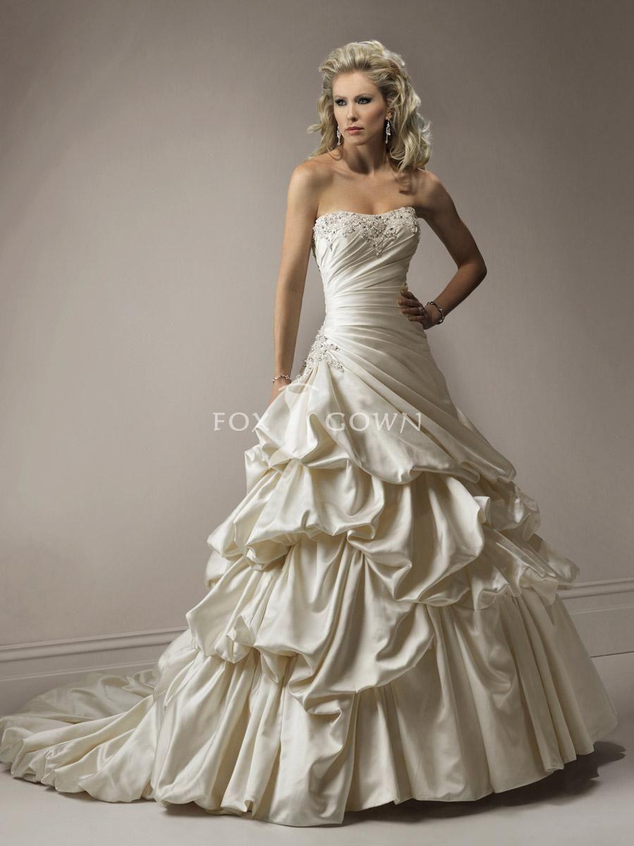 Bubble Wedding Dress Ideas