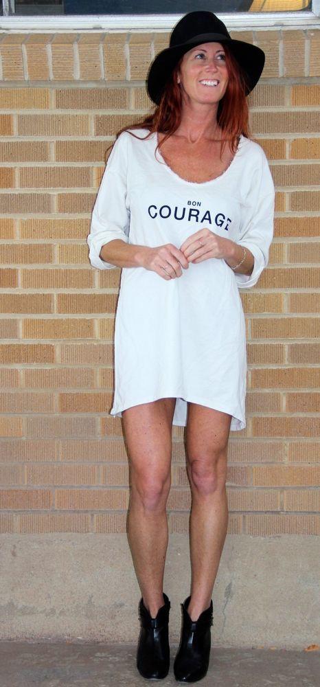 NWT~Love Nail Tree~Bon Courage Dress Top~Cotton~One Size~$50 **RARE ...