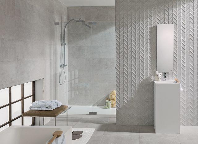 Mosaïque salle de bain  laquelle choisir Garden blocks