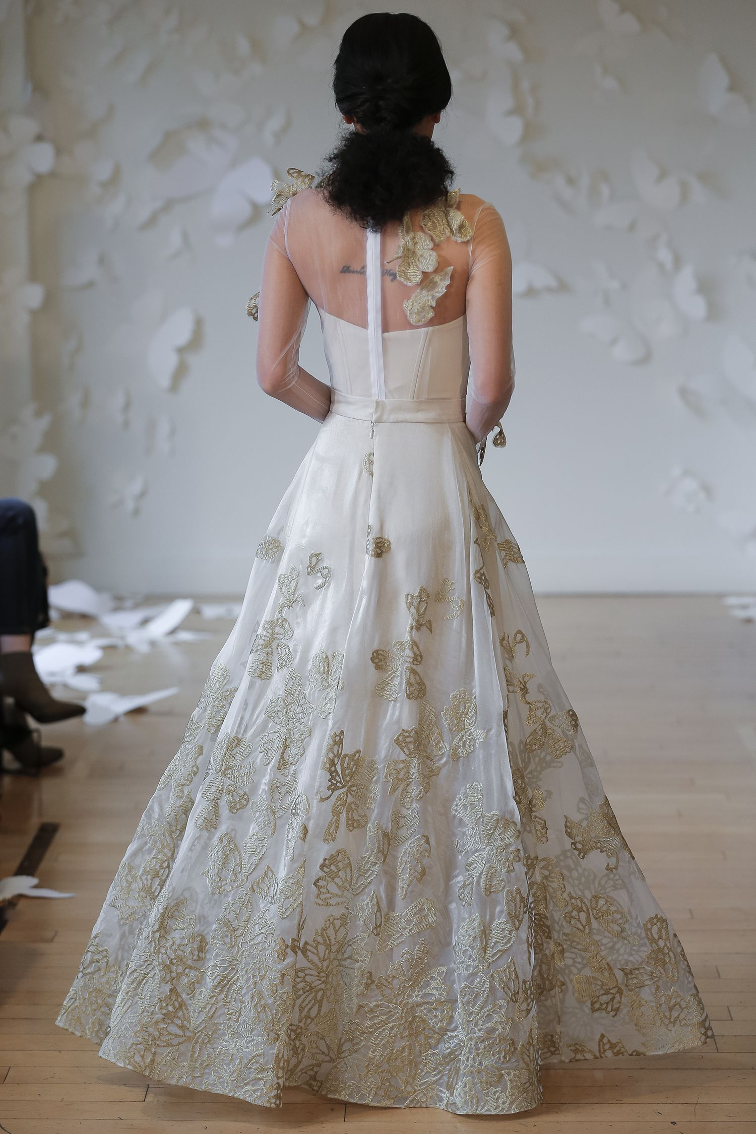 The Monarch Collection | Fritillary Gown | Photography: Jen for ...