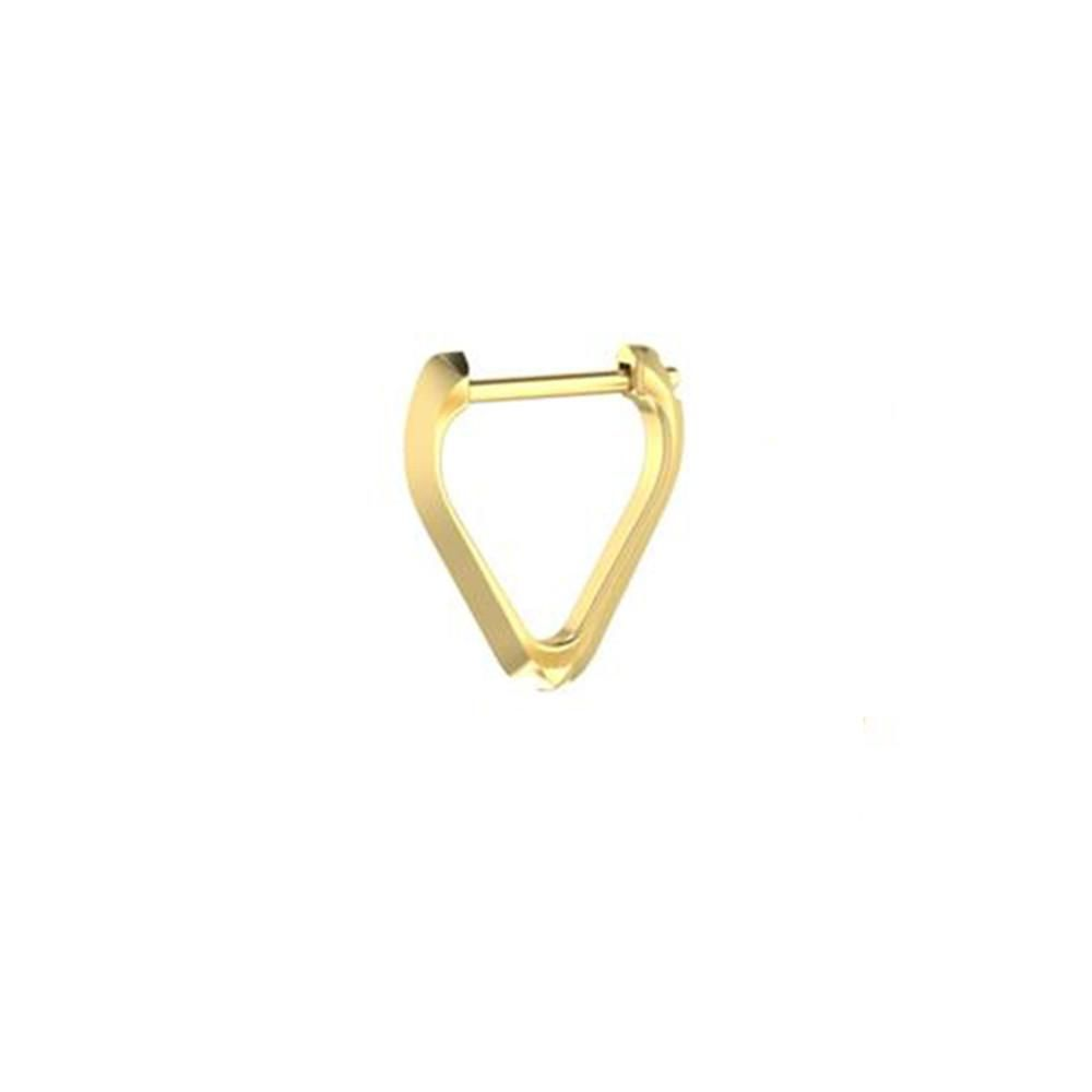 Triangle Hoop Earrings from ICONERY