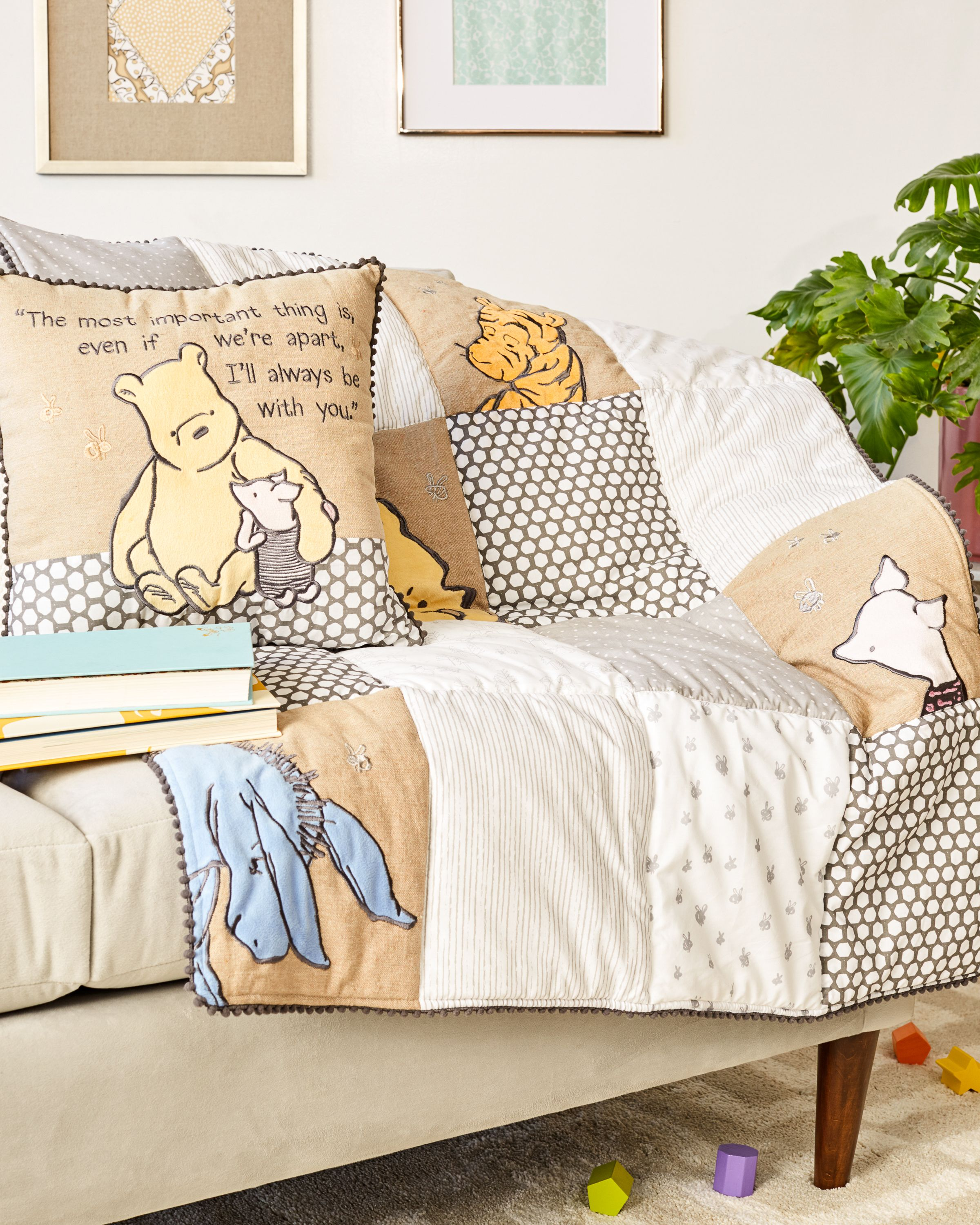 Classic Pooh A Day with Pooh Crib Bedding Collection ...