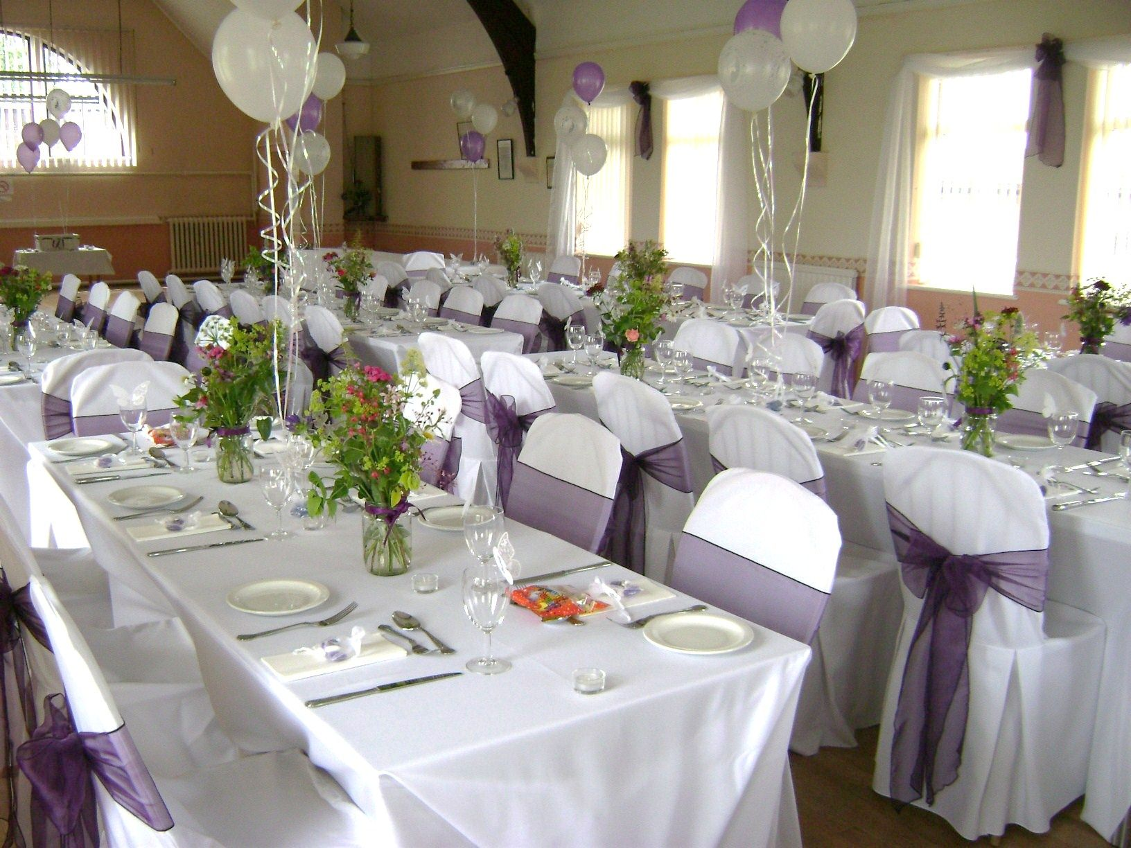 Wedding Reception Chair Cover Ideas