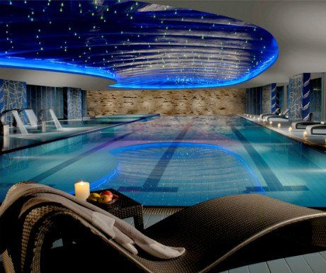 Europe's best hotel with a spa