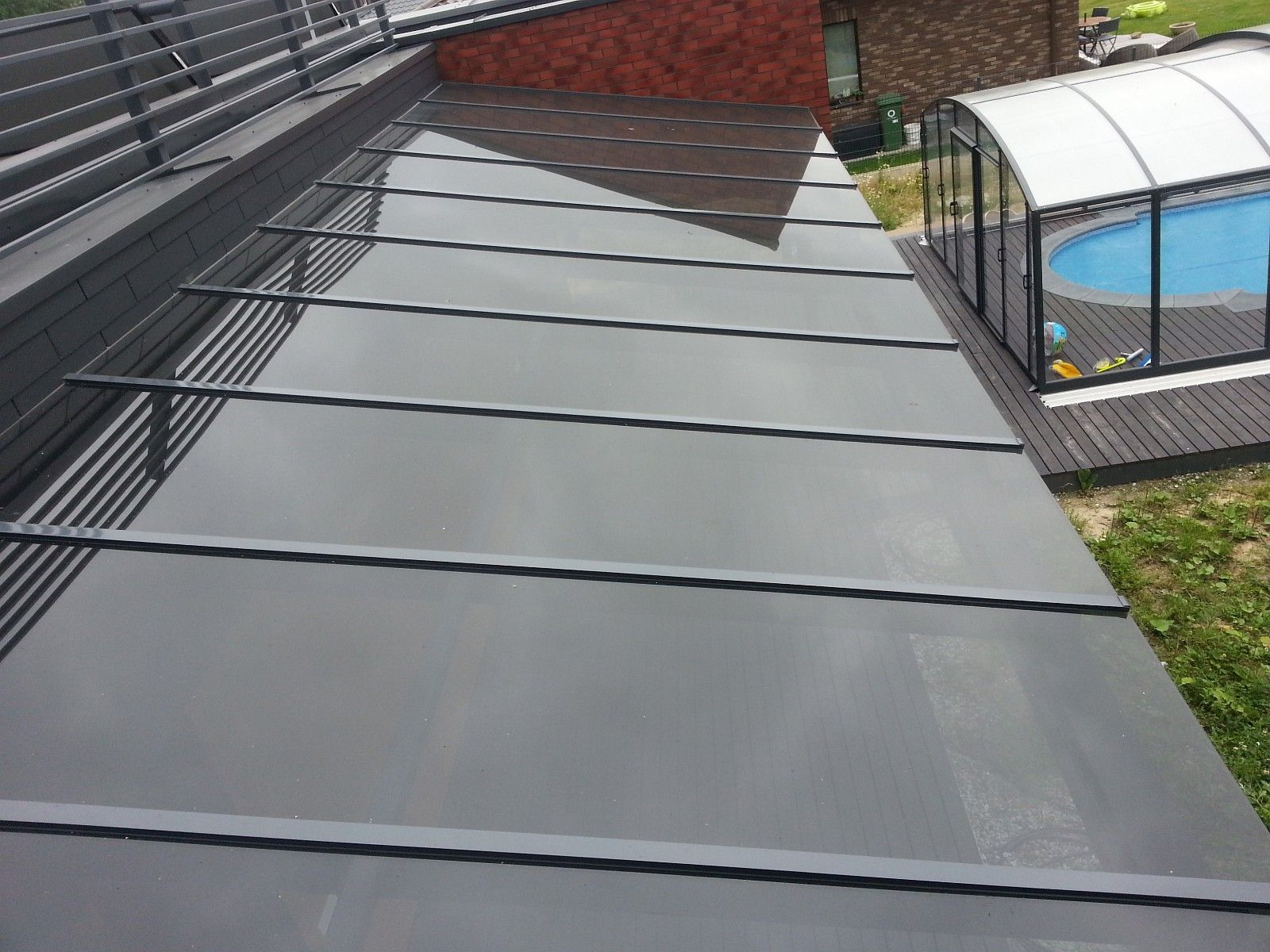 Terrace Glass Roof Glasstak Vintergarden Tak Complete Made Of Safety Glass Prosjekter