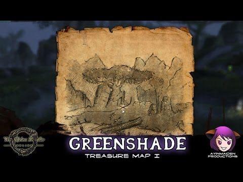 Greenshade Treasure Map I | ESO - Treasure Map | Treasure ...