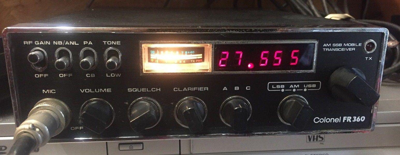Colonel Fr 360 120ch Am Usb Lsb Ham Radio Cb Radio Radio