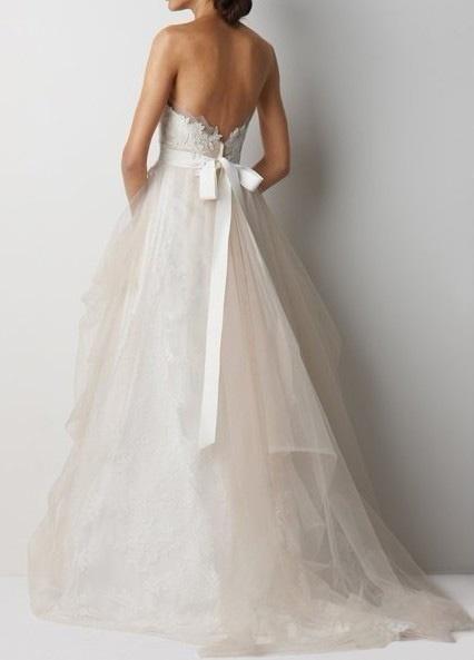 vestidos de novia con lazo en la espalda: ¡nos gustan!   matri civil