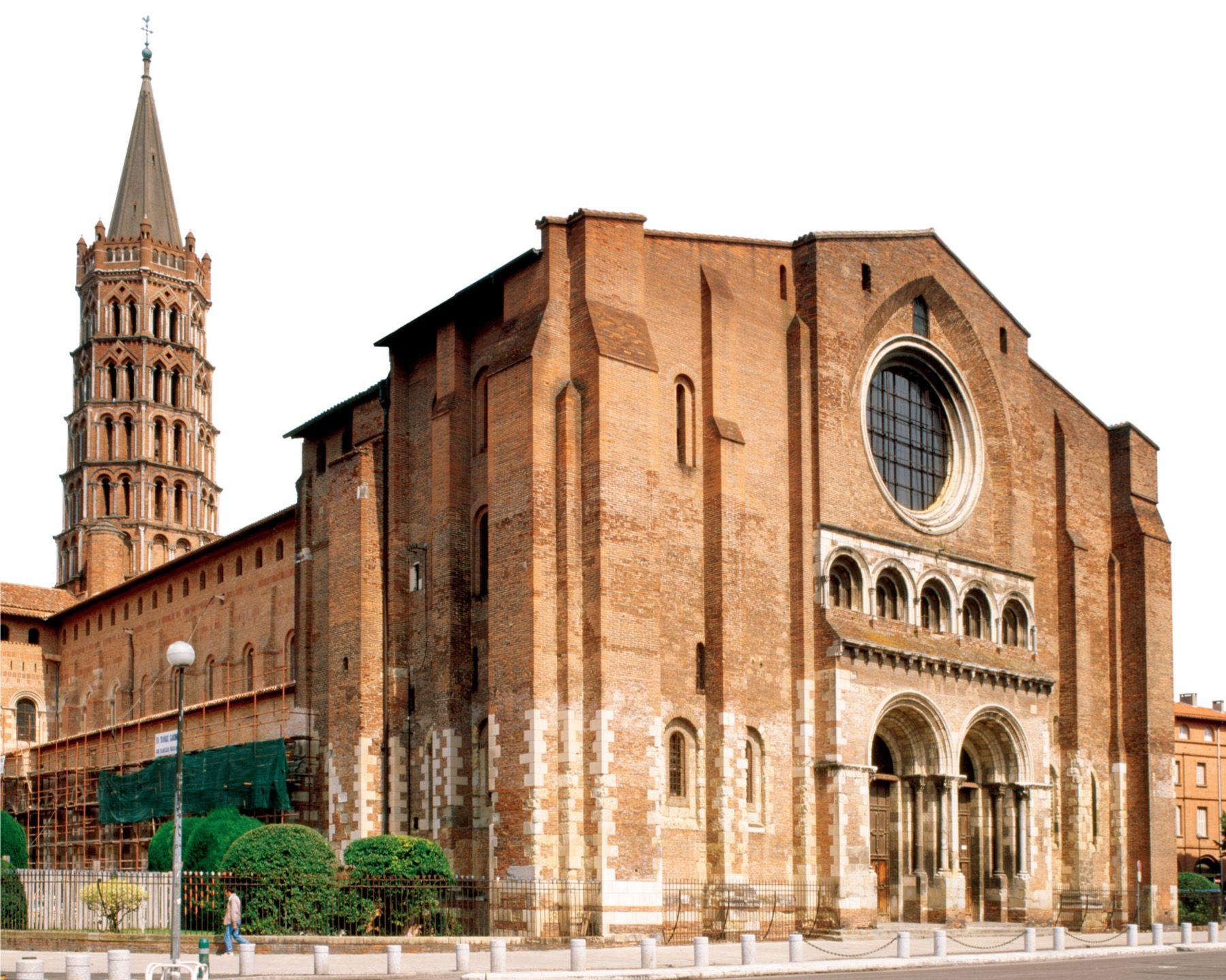 Romanesque Architecture France St Sernin Toulouse 1180