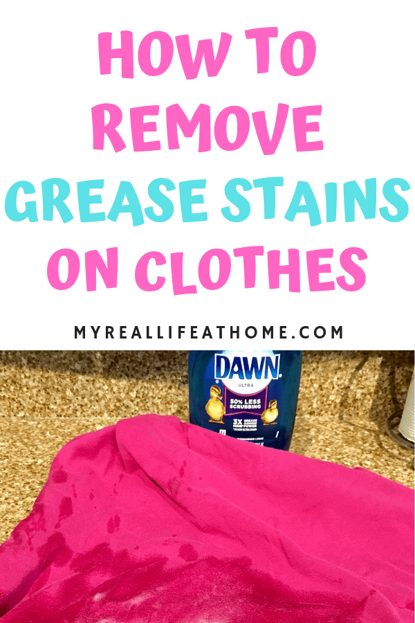How To Get Rid Of Grease Stains On Clothes Fast
