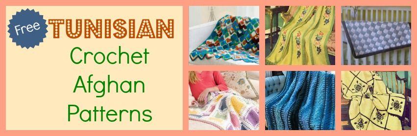 28 Tunisian Stitch Crochet Afghan Patterns   Tunisian crochet ...