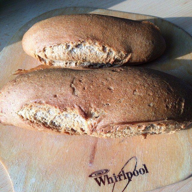 Gluten Free Teff Bread thanks to Panificio Liberaire for the mix