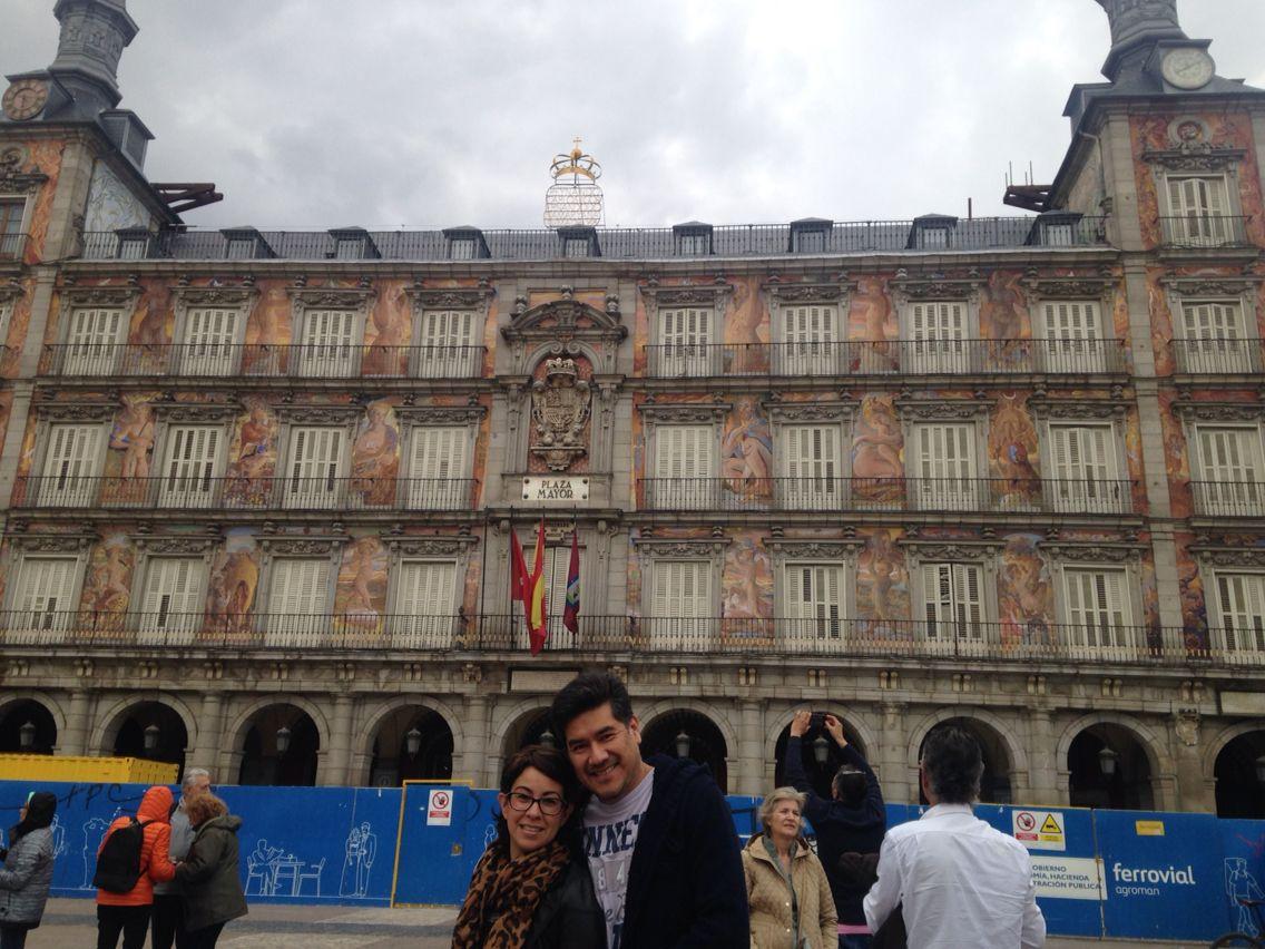 Plaza Mayor, Madrid España