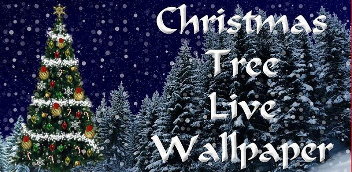 This 3D Christmas Live Wallpaper Has A Scene With Countdown In Snowfall